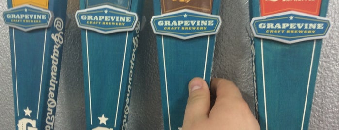 Grapevine Craft Brewery is one of DFW Craft Beer.