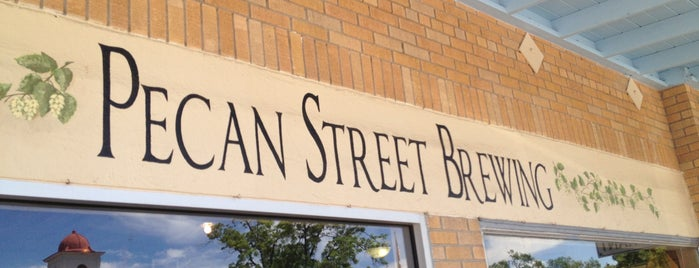 Pecan Street Brewing Co. is one of Michael 님이 좋아한 장소.