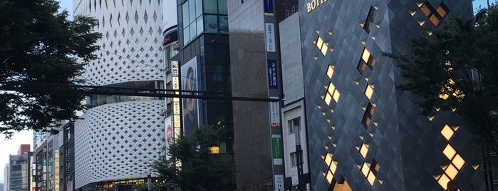 Ginza 4-chome is one of Sights in Japan.
