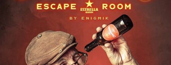 Enigmik Room Escape Barcelona is one of Room Escape.