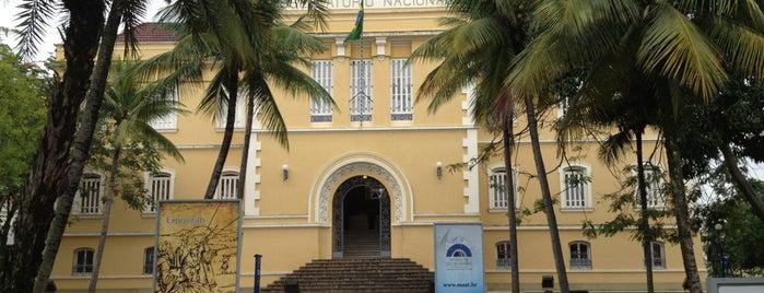 Museu de Astronomia e Ciências Afins (MAST) is one of Rio de Janeiro.
