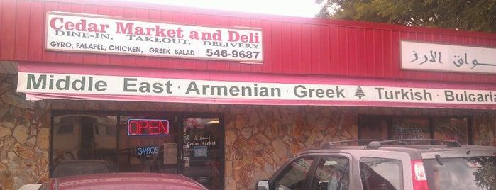 Cedar Market and Deli is one of Bob'un Beğendiği Mekanlar.