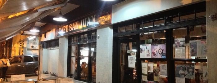 Café San Juan is one of Sabrosa BA '13 por Raquel Rosemberg.