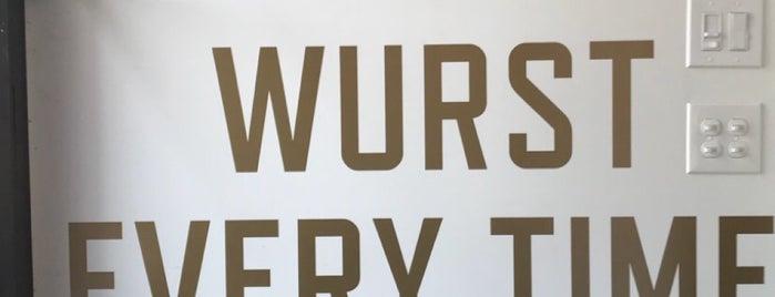 OP Wurst is one of Tempat yang Disukai PDX.
