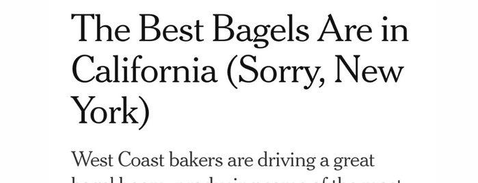 Boichik Bagels is one of Berkeley.