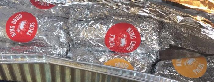 King David Tacos is one of NYC 2018 - Brooklyn.