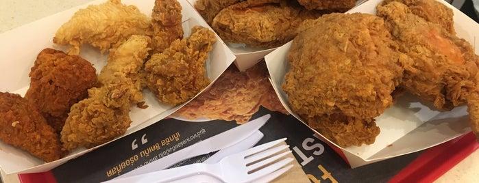 Texas Chicken is one of Locais salvos de Vladimir.