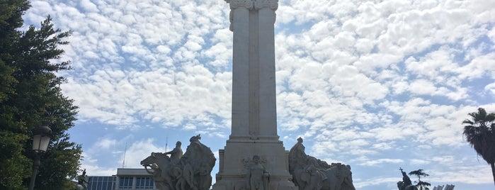 Monumento a las Cortes is one of Cádiz para Poyato.
