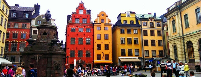 Stortorget is one of Stockholm #WeAreBack.