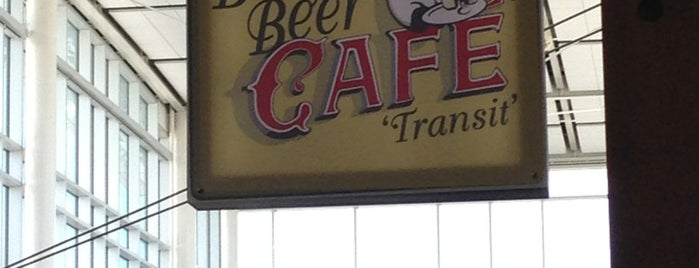 Belgian Beer Café 'Transit' Edmonton is one of Favourites.