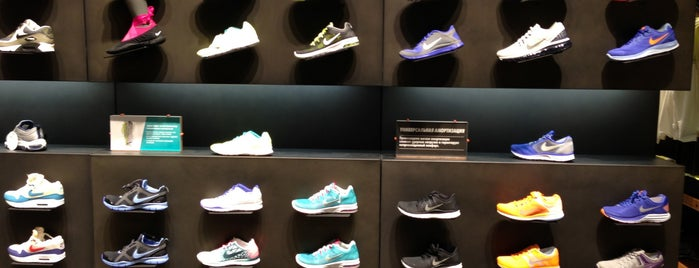 Nike is one of Roman : понравившиеся места.