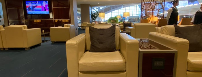 Emirates Airlines Lounge is one of สถานที่ที่ Michael ถูกใจ.