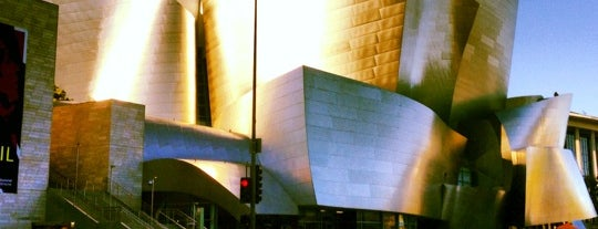 Walt Disney Concert Hall is one of LAX.