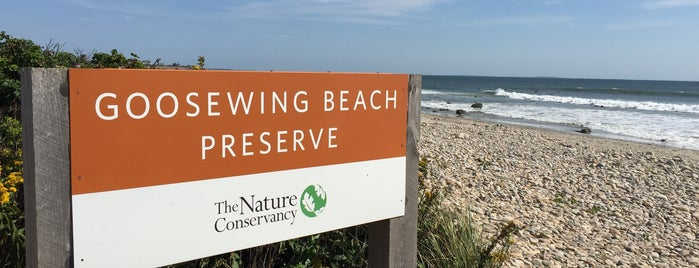 Goosewing Beach is one of Newpaht.