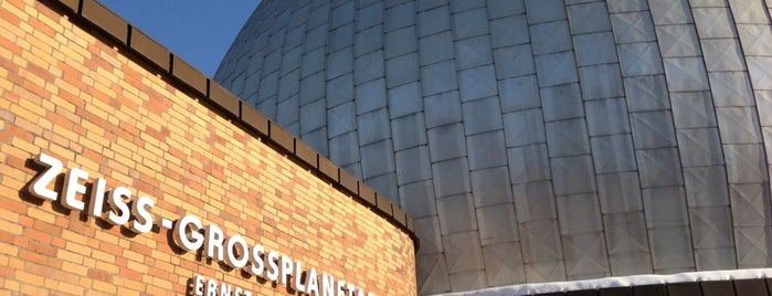 Zeiss-Großplanetarium is one of E.