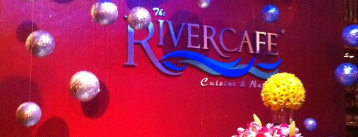 The River Cafe is one of Lieux sauvegardés par Jesus.