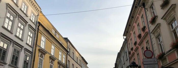 Stare Miasto is one of Krakiw.