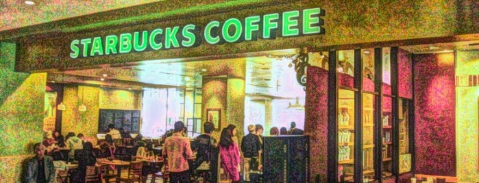 Starbucks is one of Locais curtidos por Shinichi.