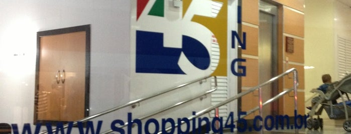 Shopping 45 is one of Lugares bons para tortas.