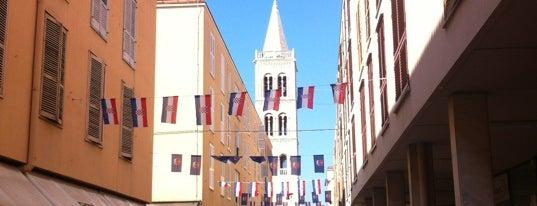 Kalelarga is one of Zadar.