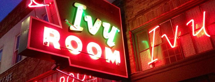 Ivy Room is one of Northern CALIFORNIA: Vintage Signs.