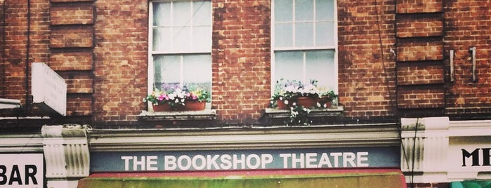 The Bookshop Theatre is one of Tempat yang Disimpan Nina.