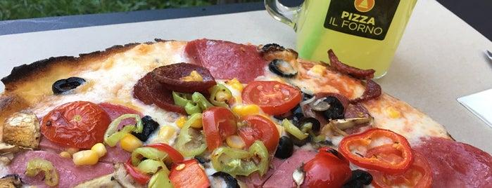 Pizza İL FORNO is one of Lieux qui ont plu à Mustafa.