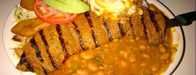Mi Patria Ecuadorian is one of Diners, Drive-Ins & Dives 3.