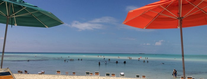 Serenity Bay Beach is one of DCL.