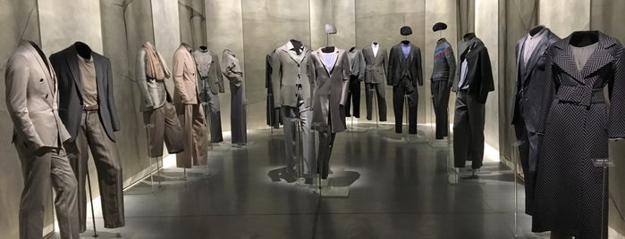 Armani Silos is one of GAY GUIDE MILAN.