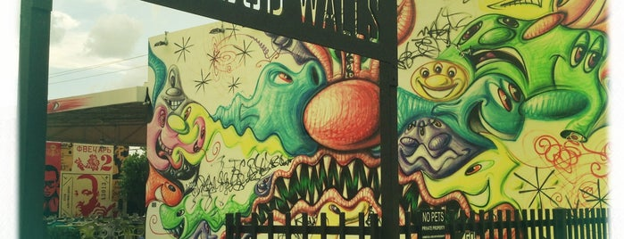 The Wynwood Walls is one of Miami.