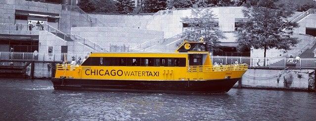 Shoreline Water Taxi (Wells & Wacker) is one of Chicago Part II.