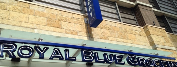 Royal Blue Grocery is one of Locais salvos de Colleen.