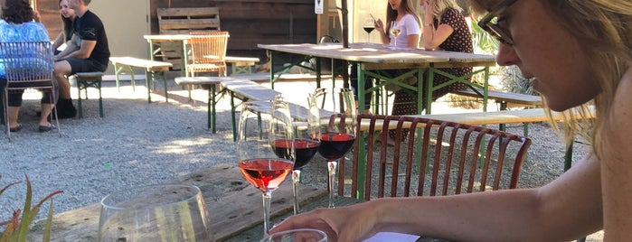 Cowgirl Winery is one of Carmel and Monterey.