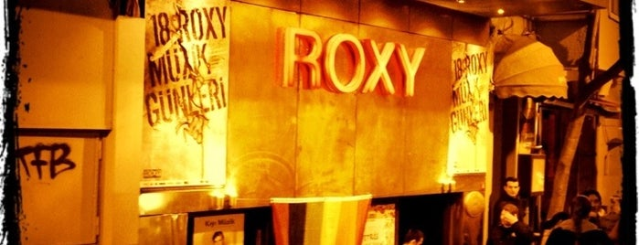 Roxy is one of Taksimde napılır.