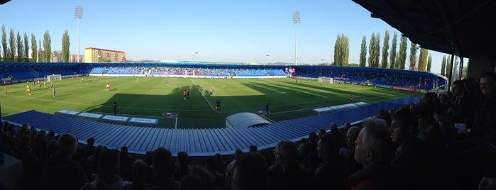 Štadión FK Senica is one of Prvoligové futbalové štadióny.