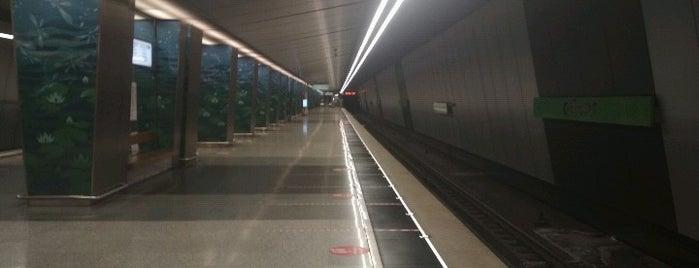 metro Ozyornaya is one of Lieux qui ont plu à Alejandra.