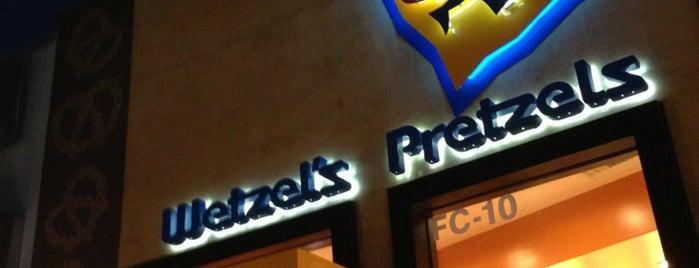 Wetzel's Pretzels is one of AddPepsi.