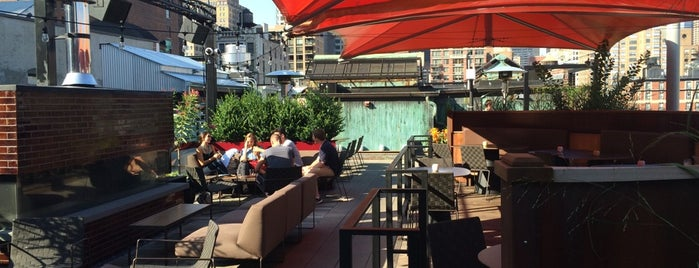 Roof at Park South is one of New York 2016 - Food/Drinks.