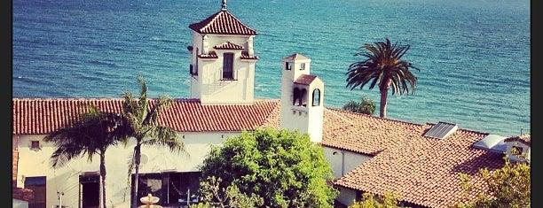 Bel Air Bay Club is one of LA.