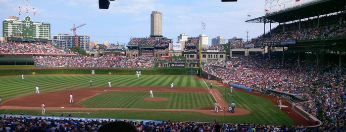 Wrigley Field is one of MLB.