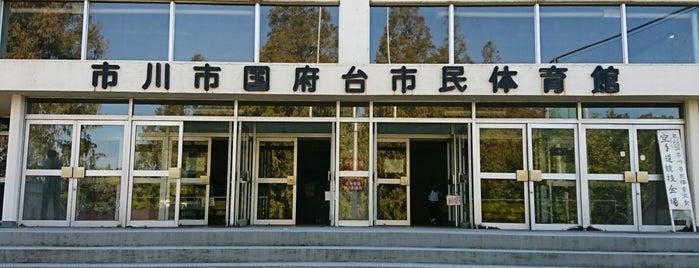 市川市国府台市民体育館 is one of Funabashi・Ichikawa・Urayasu.