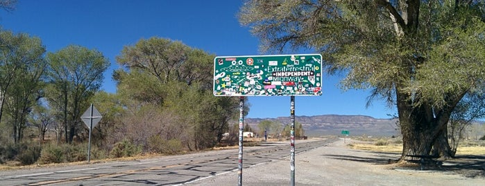 Extraterrestrial Highway is one of USA.