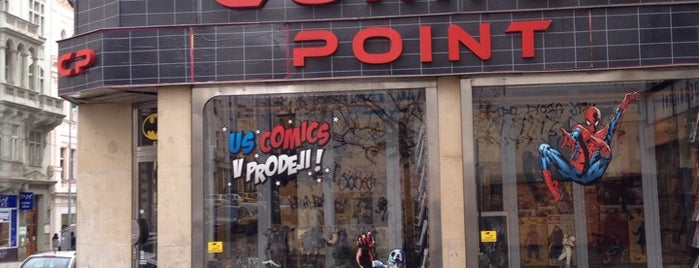 Comics Point is one of To-Do in Prague I.