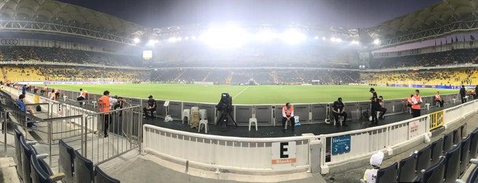 Стадион «Фенербахче Шюкрю Сараджоглу» is one of Serkan : понравившиеся места.