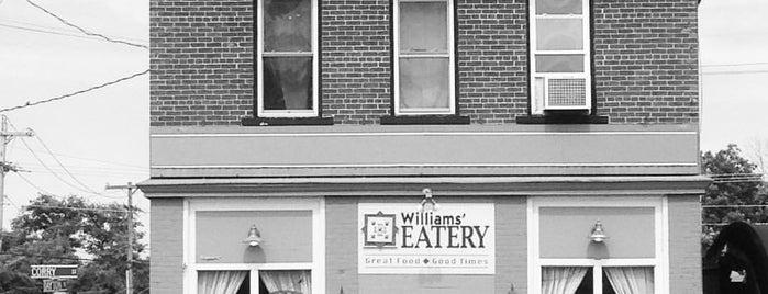 Williams Eatery & Gathering Place is one of Posti che sono piaciuti a Matt.