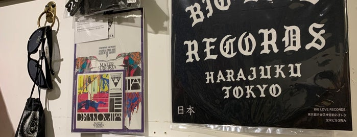 Record Shop BIG LOVE is one of TOKYO 2018.