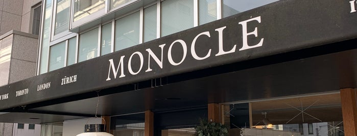 The Monocle Shop Tokyo is one of Japan.