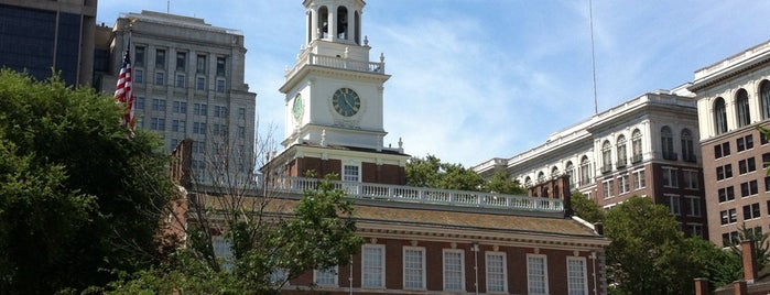 Independence Hall is one of Frolic!.