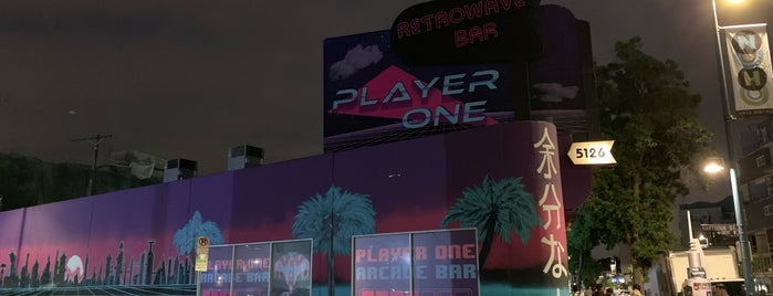 Player One Arcade Bar is one of To Do In LA.